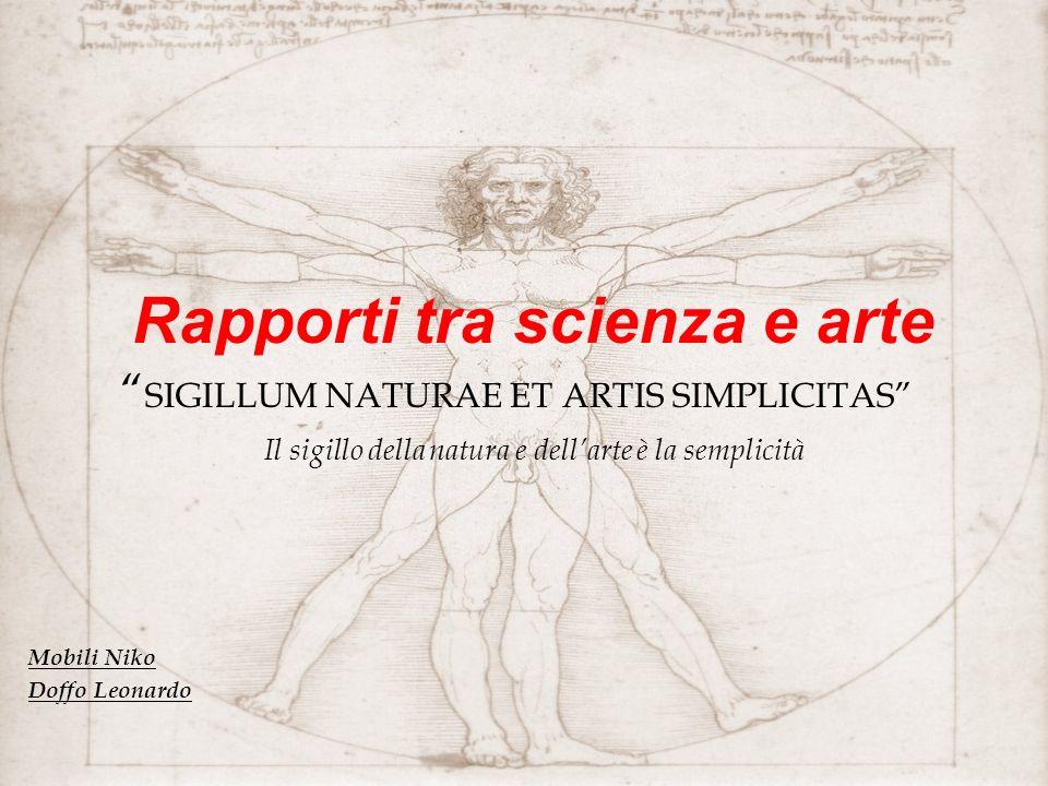 Rapporti tra scienza e arte