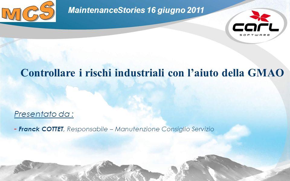 Controllare i rischi industriali con l'aiuto della GMAO