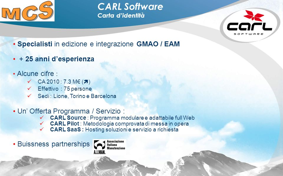 CARL Software Carta d'identità
