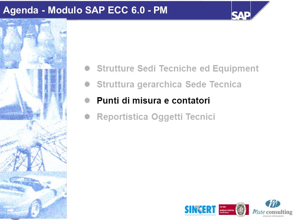 Agenda - Modulo SAP ECC 6.0 - PM