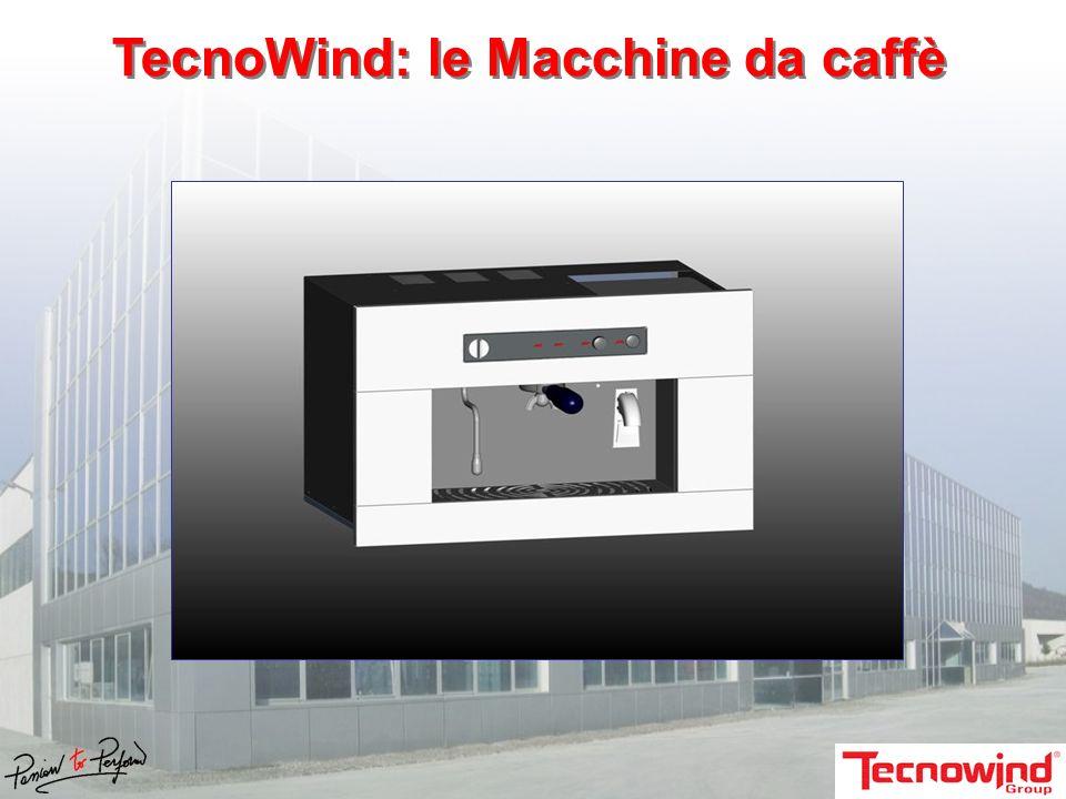 TecnoWind: le Macchine da caffè