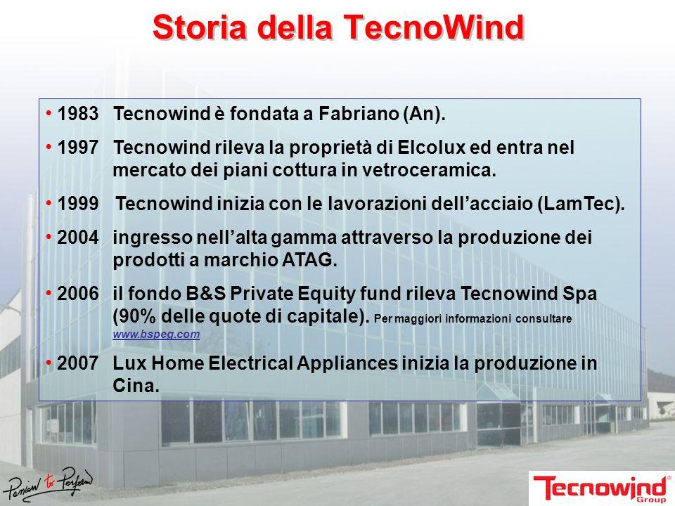 Storia della TecnoWind