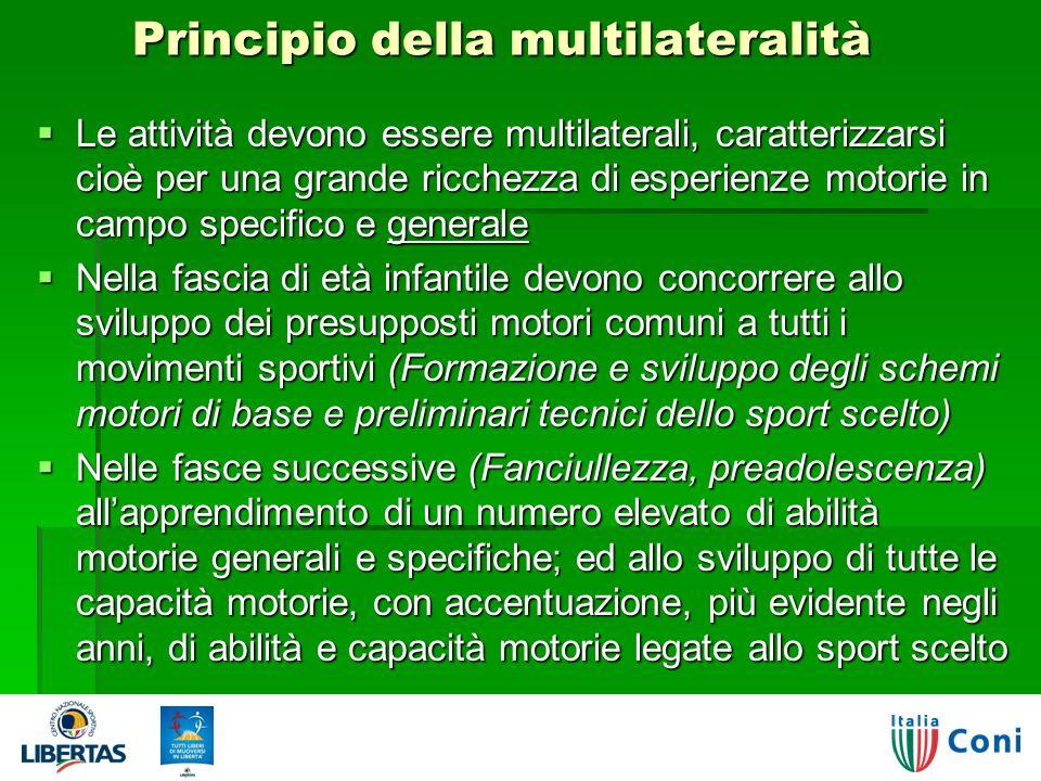 Principio della multilateralità