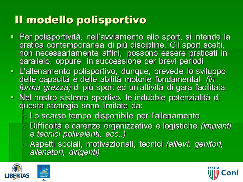Il modello polisportivo