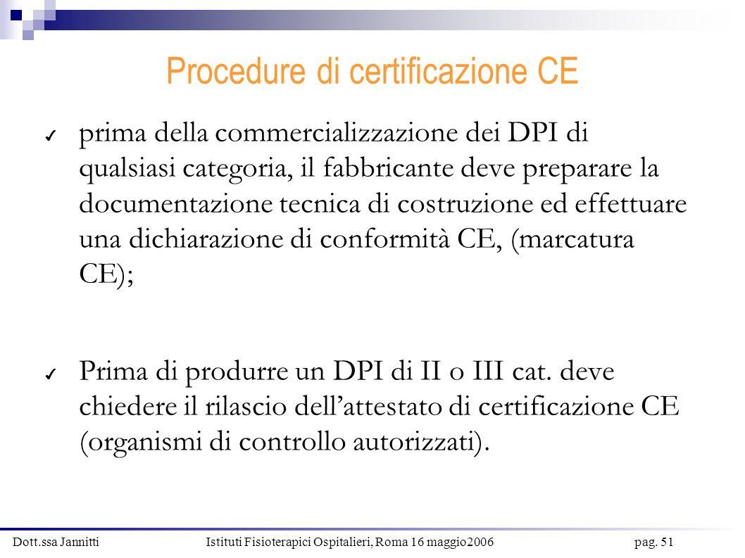 Procedure di certificazione CE