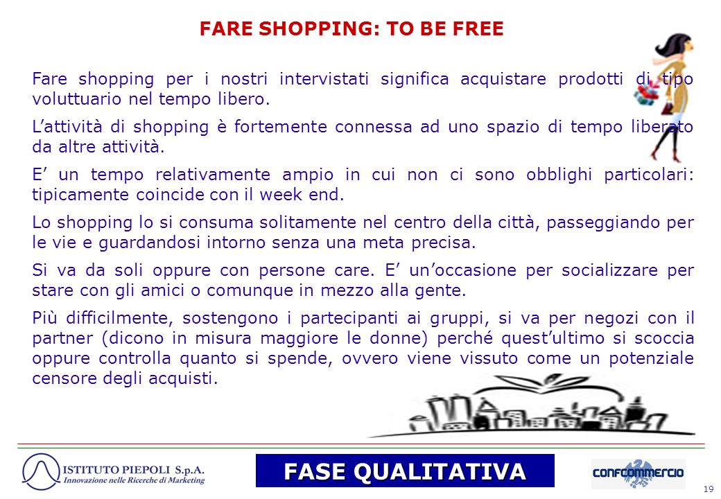 FARE SHOPPING: TO BE FREE