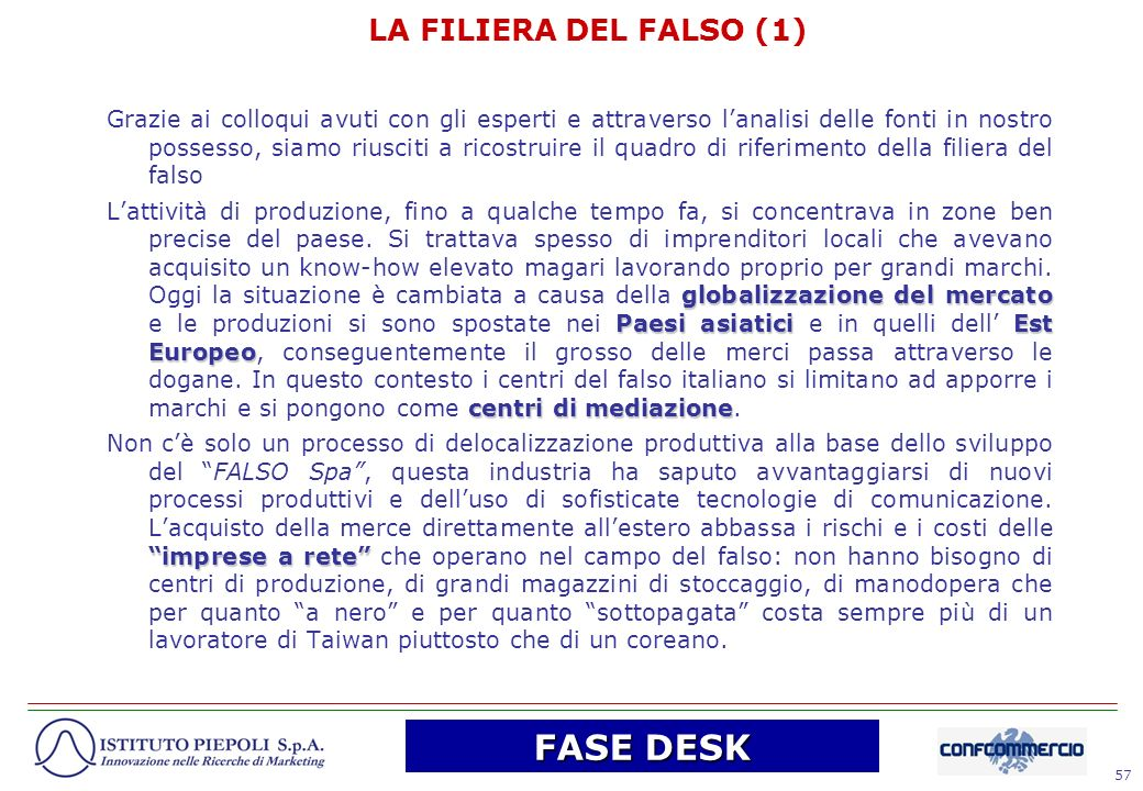 FASE DESK LA FILIERA DEL FALSO (1)