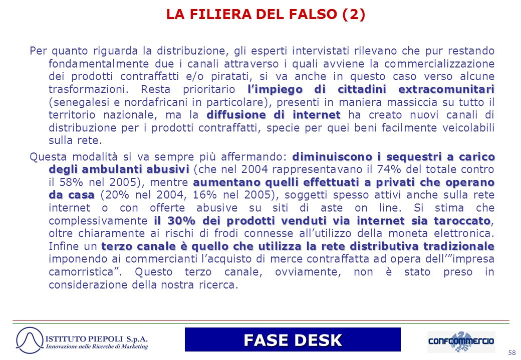 FASE DESK LA FILIERA DEL FALSO (2)