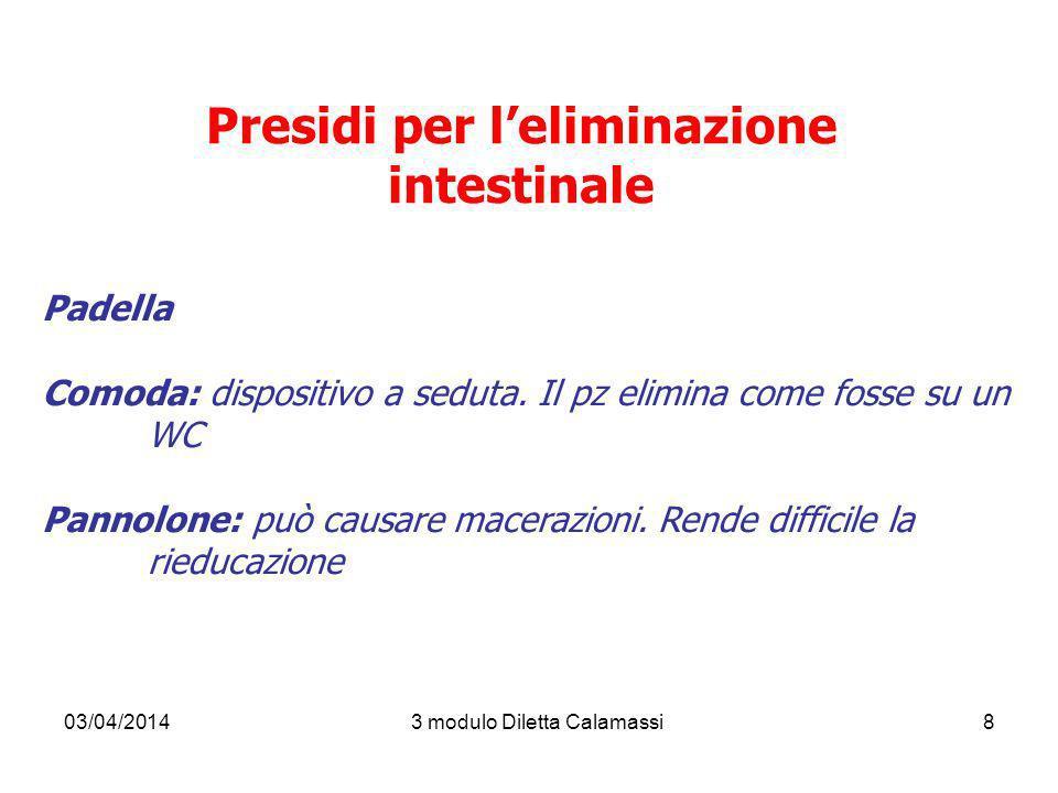 Presidi per l'eliminazione intestinale