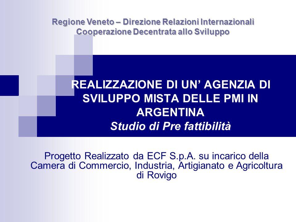 Regione Veneto – Direzione Relazioni Internazionali Cooperazione Decentrata allo Sviluppo