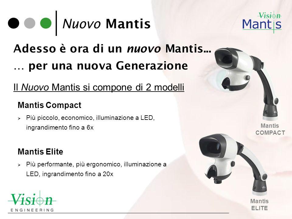 Nuovo Mantis Adesso è ora di un nuovo Mantis...