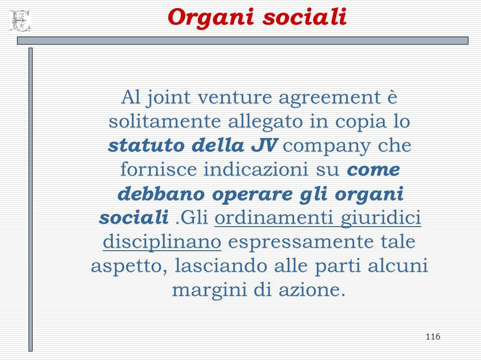 Organi sociali