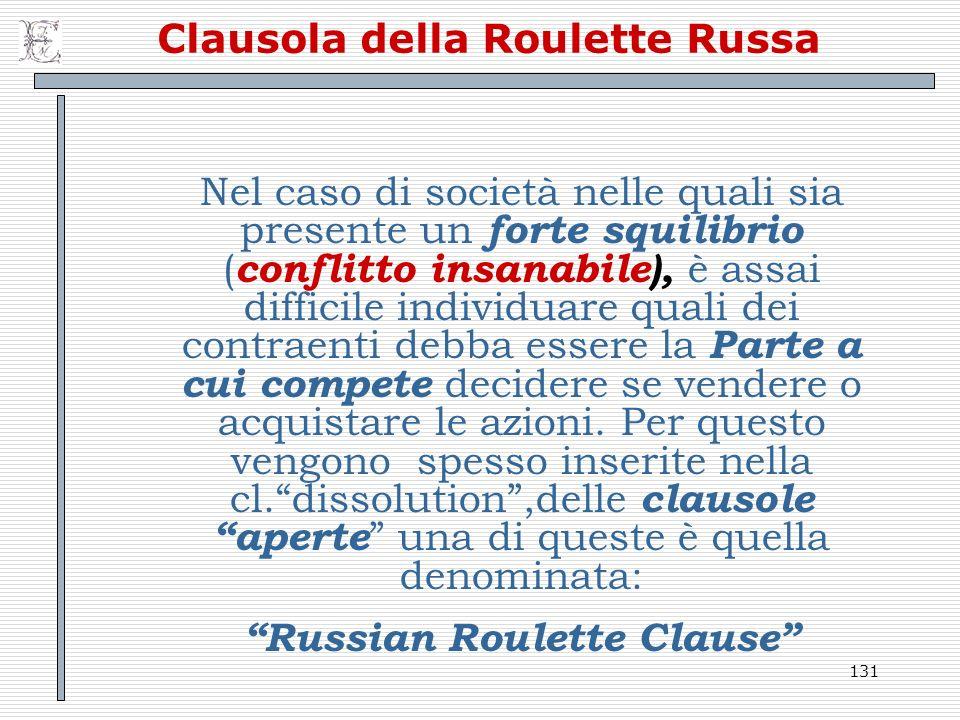 Clausola della Roulette Russa
