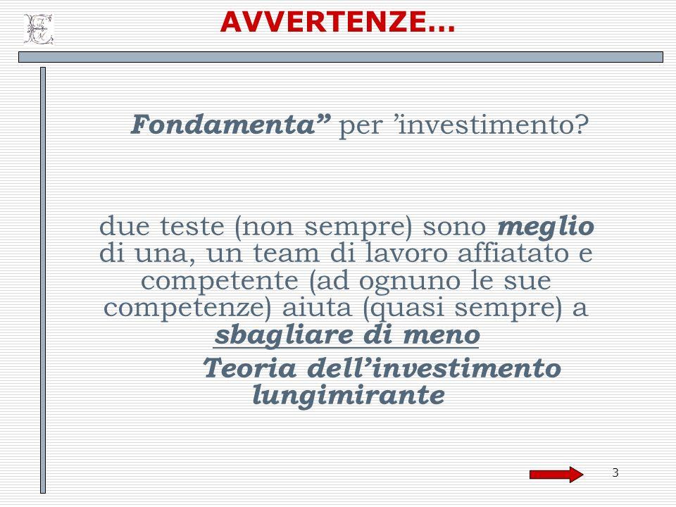 Teoria dell'investimento lungimirante