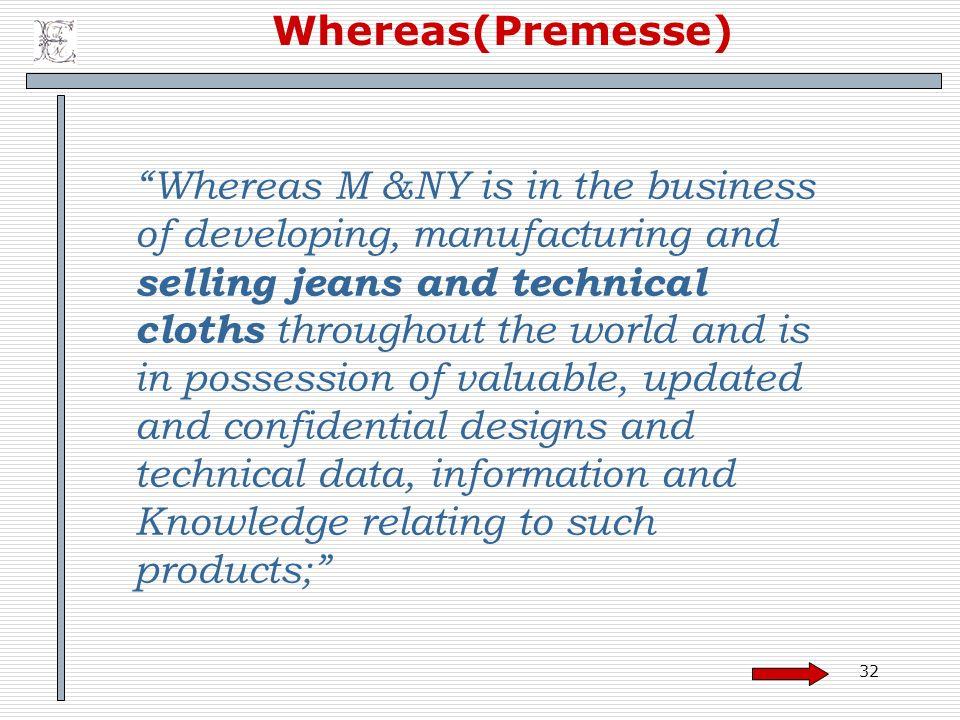 Whereas(Premesse)