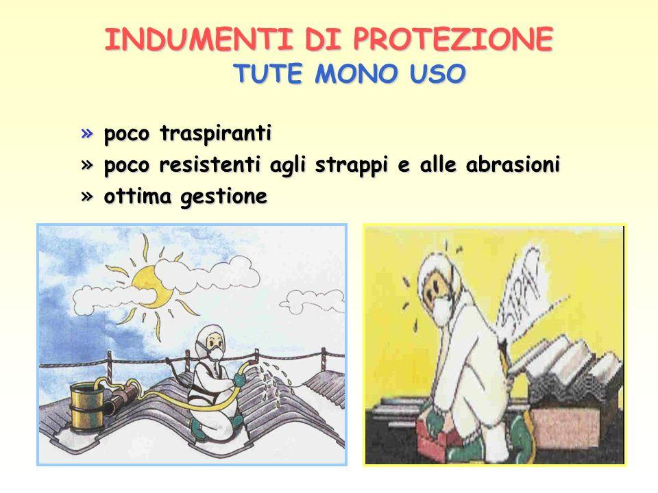 INDUMENTI DI PROTEZIONE