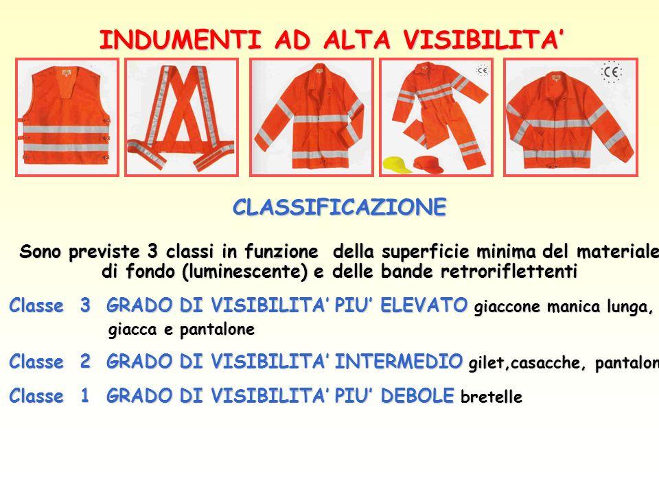INDUMENTI AD ALTA VISIBILITA'
