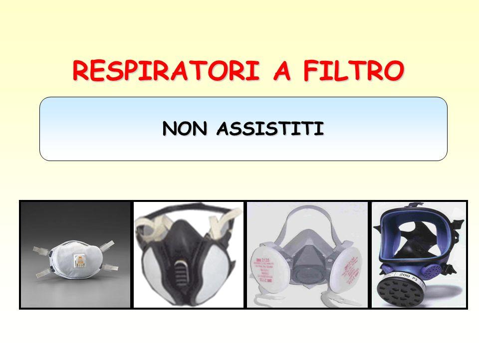 RESPIRATORI A FILTRO NON ASSISTITI