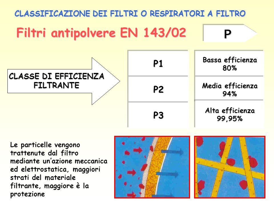 Filtri antipolvere EN 143/02