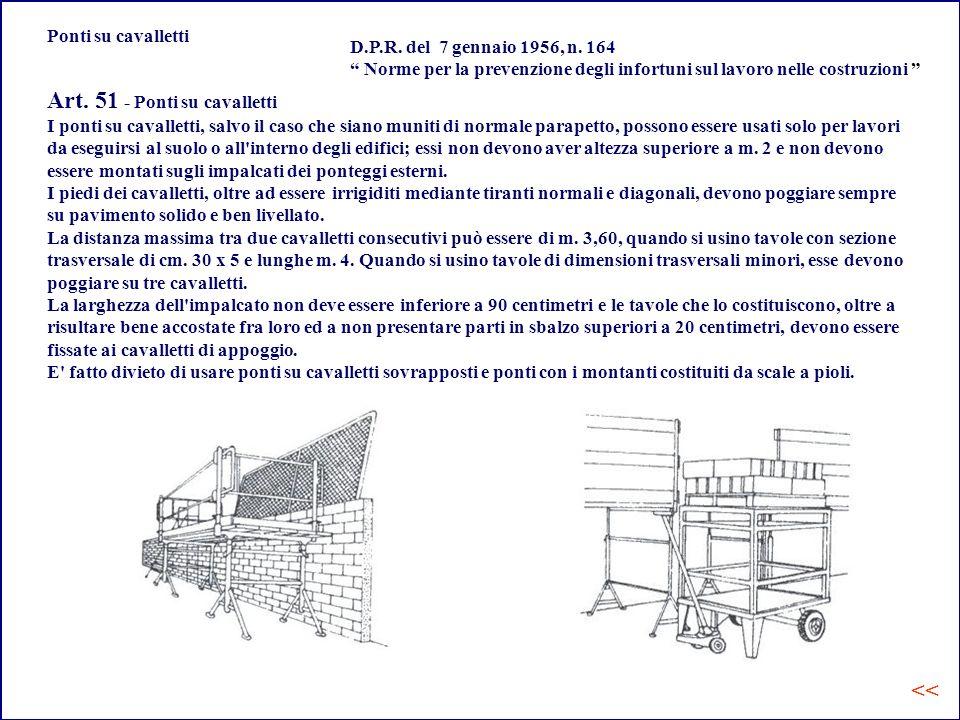 Art. 51 - Ponti su cavalletti