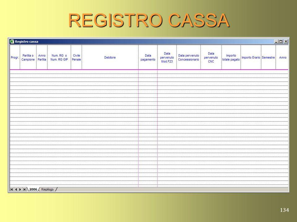 REGISTRO CASSA