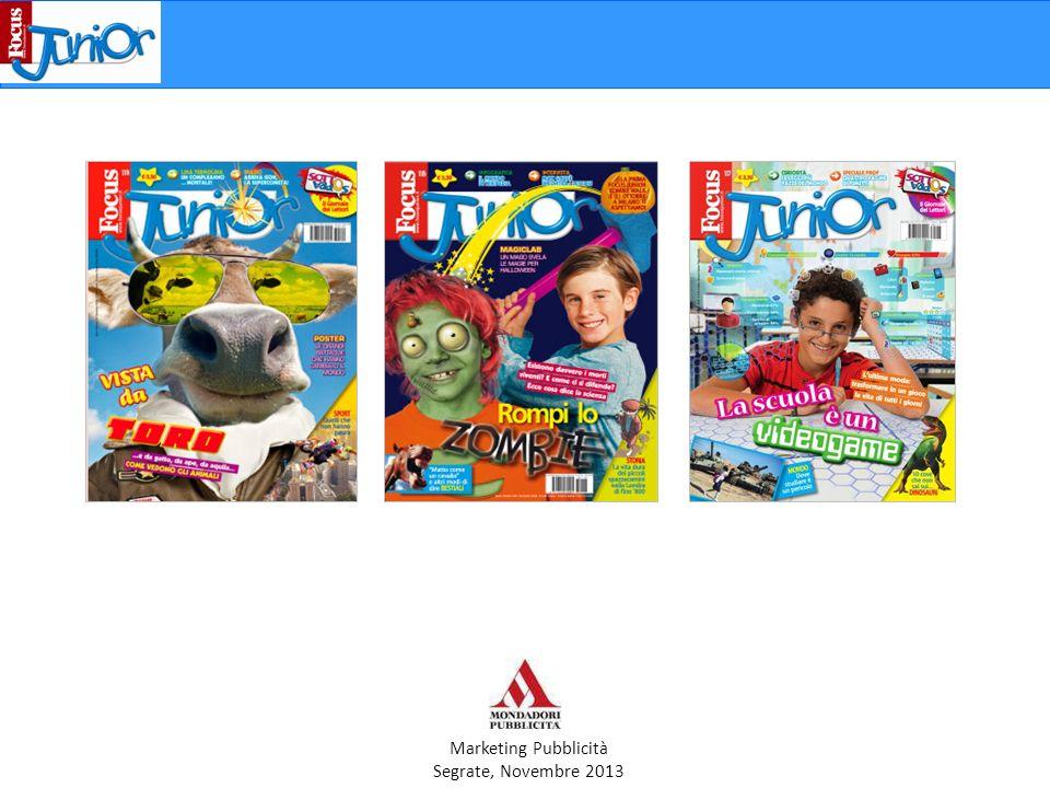 Marketing Pubblicità Segrate, Novembre 2013