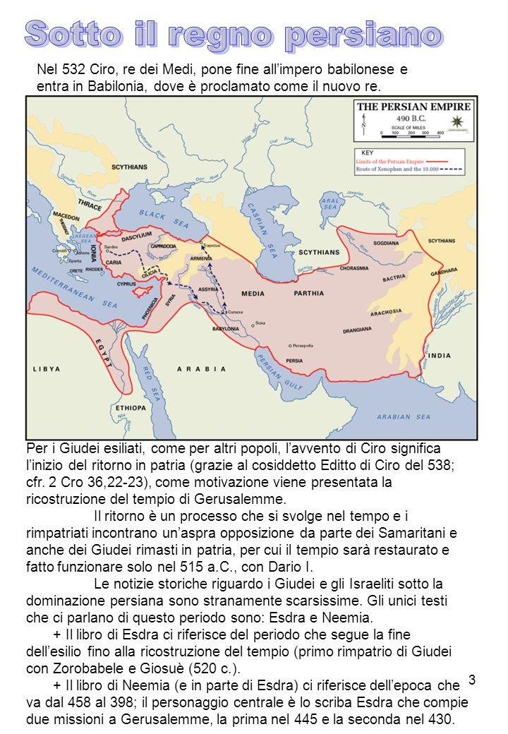 Sotto il regno persiano
