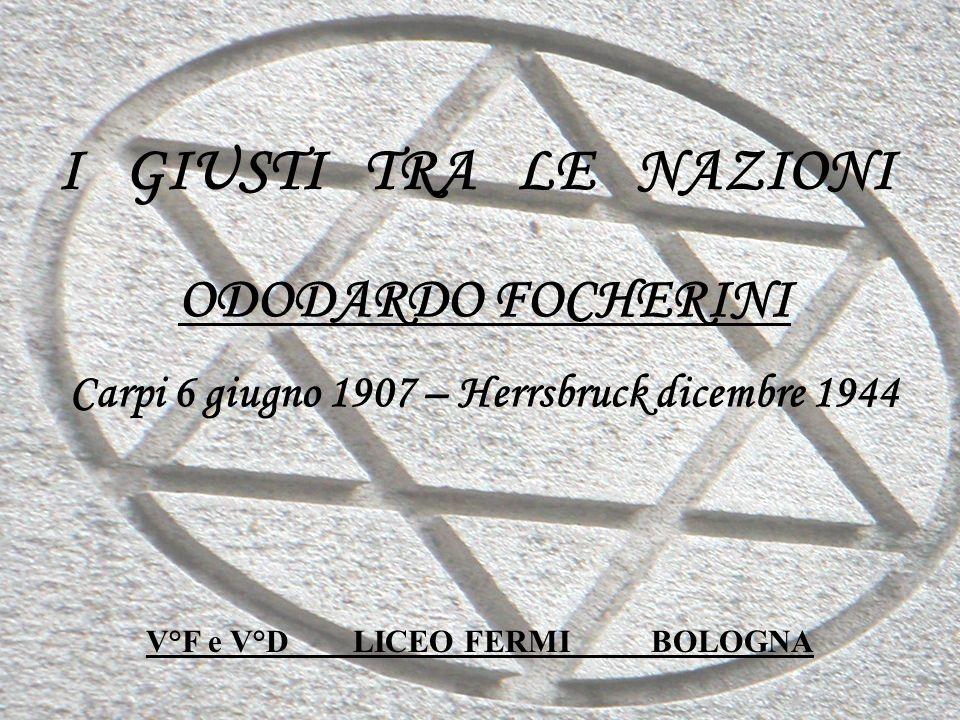 Carpi 6 giugno 1907 – Herrsbruck dicembre 1944