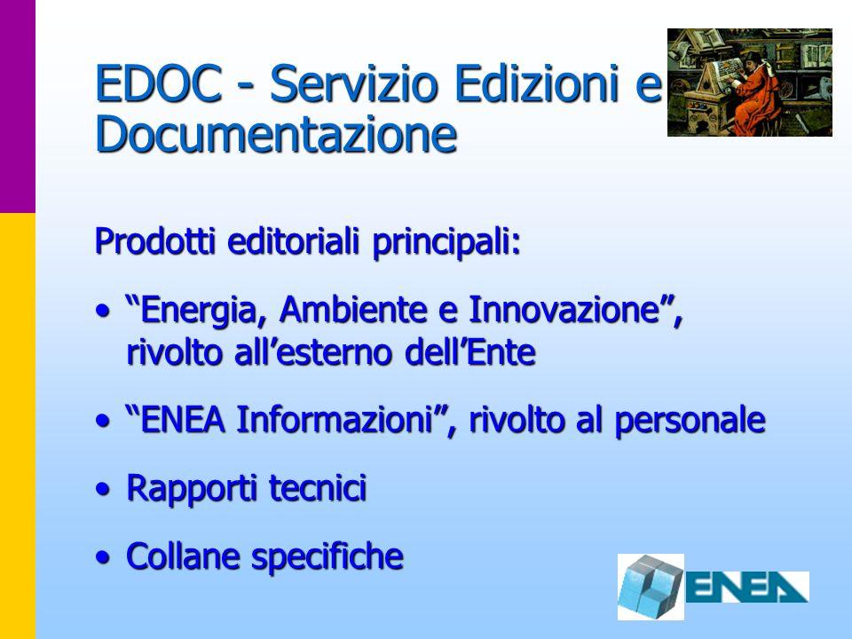 EDOC - Servizio Edizioni e Documentazione