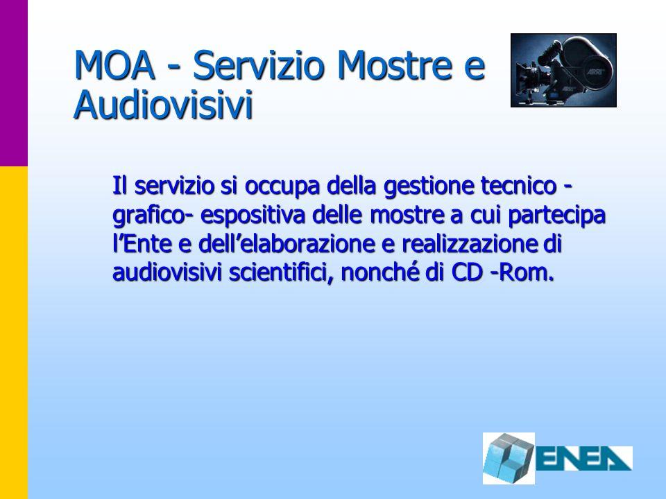 MOA - Servizio Mostre e Audiovisivi