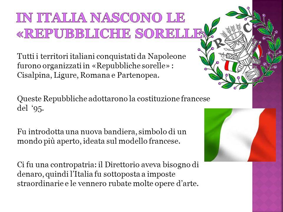 In italia nascono le «repubbliche sorelle»