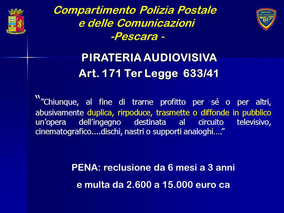 PIRATERIA AUDIOVISIVA