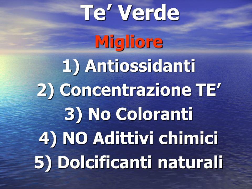 5) Dolcificanti naturali