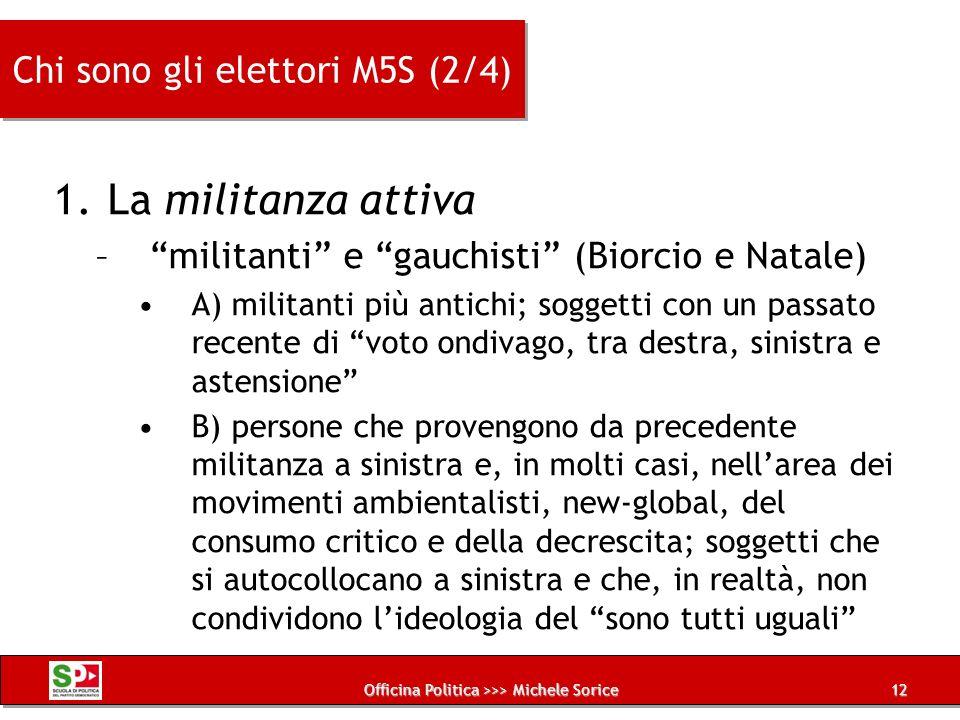 Chi sono gli elettori M5S (2/4)