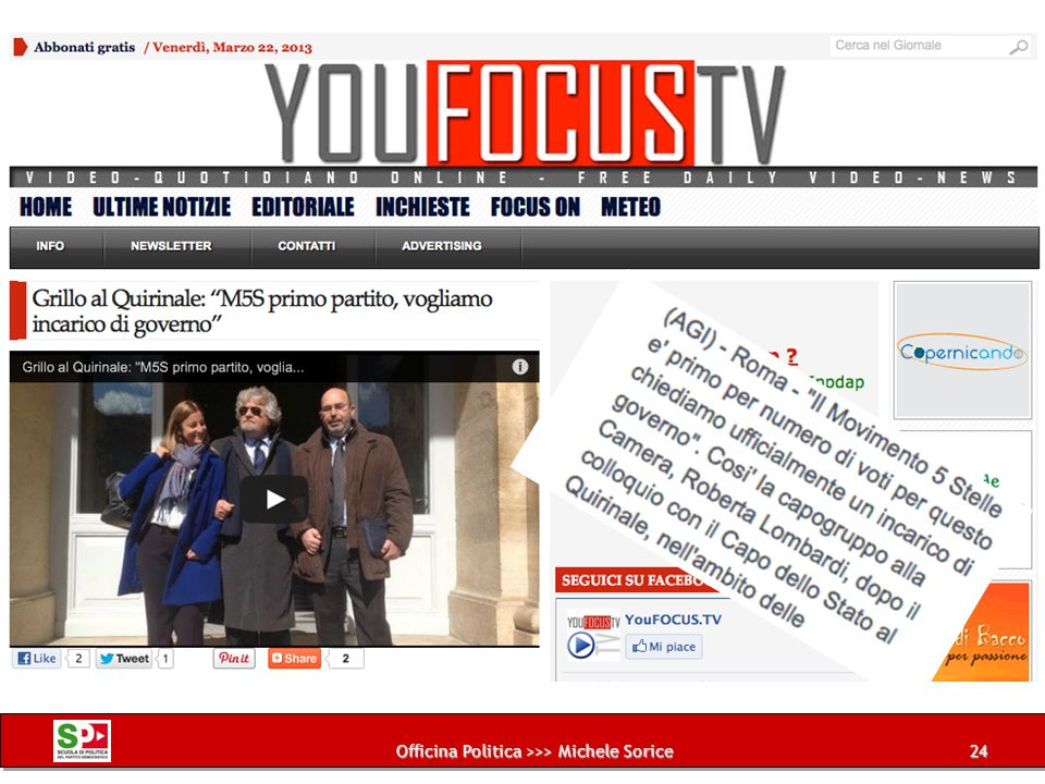 Officina Politica >>> Michele Sorice