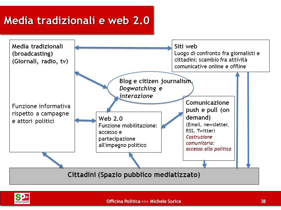 Media tradizionali e web 2.0