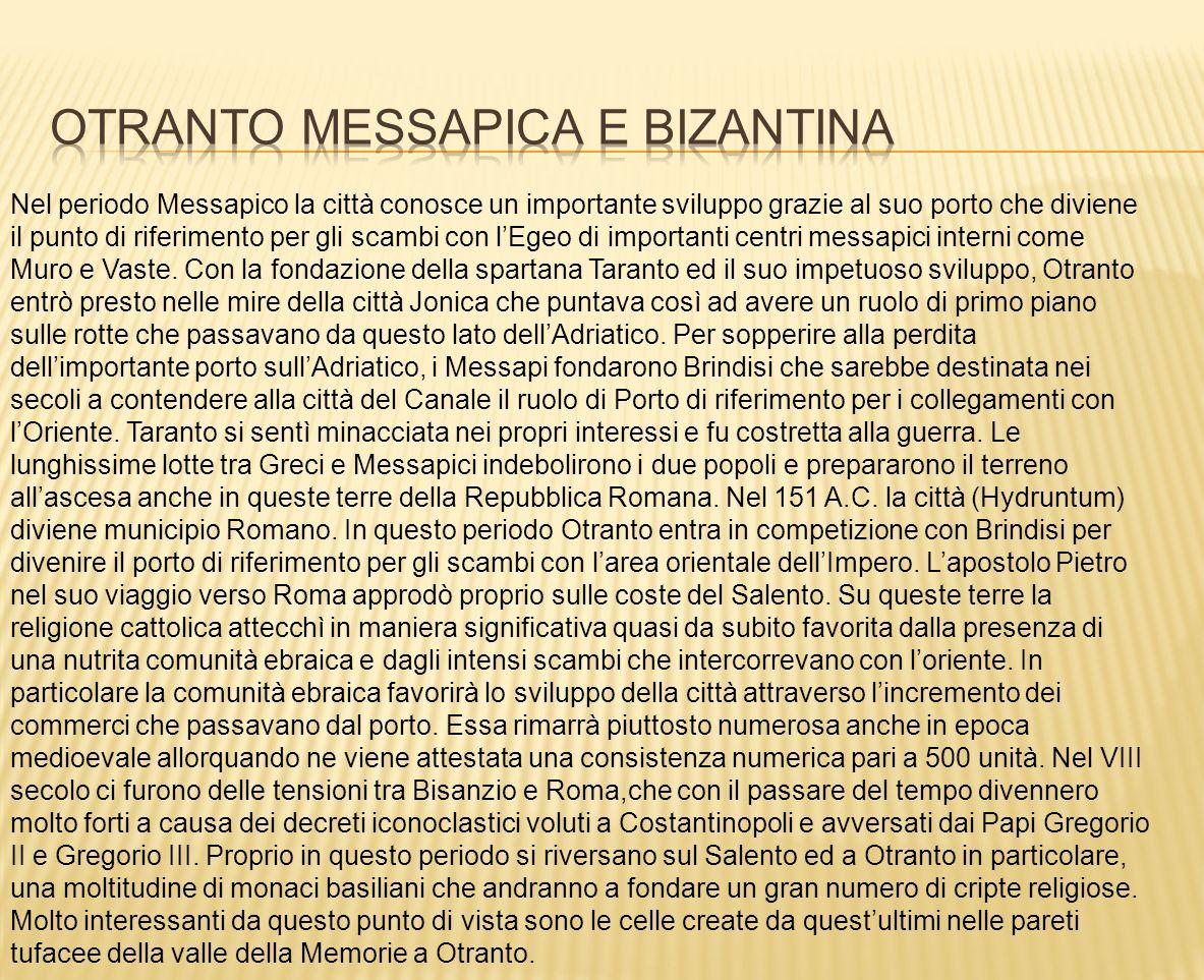 Otranto messapica e bizantina