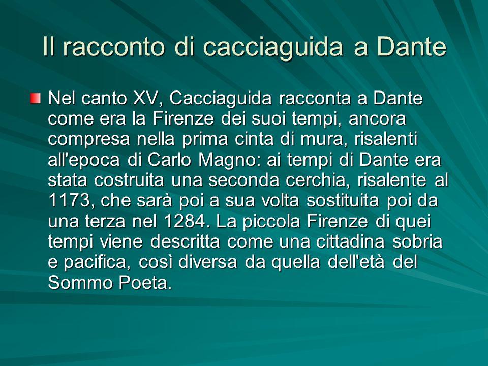 Il racconto di cacciaguida a Dante