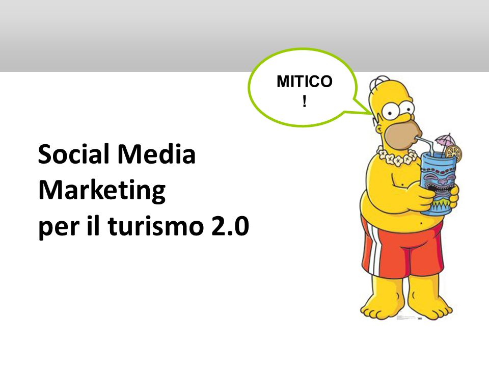 Social Media Marketing per il turismo 2.0