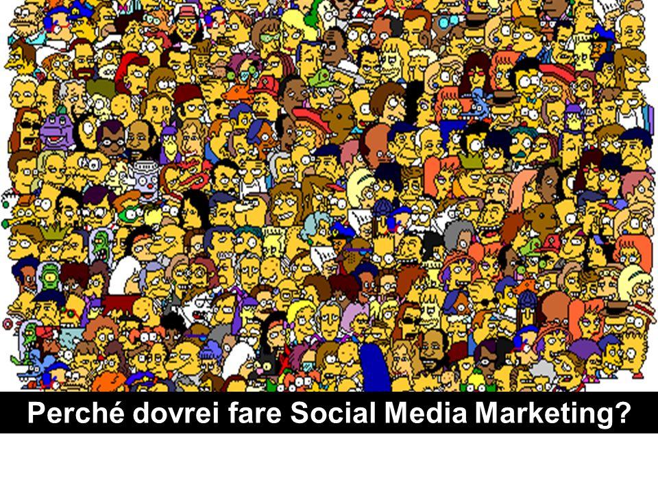 Perché dovrei fare Social Media Marketing
