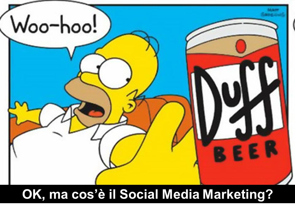 OK, ma cos'è il Social Media Marketing