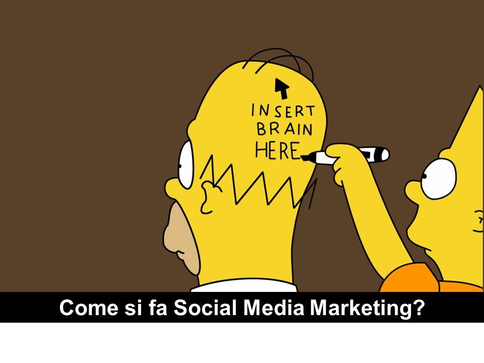Come si fa Social Media Marketing