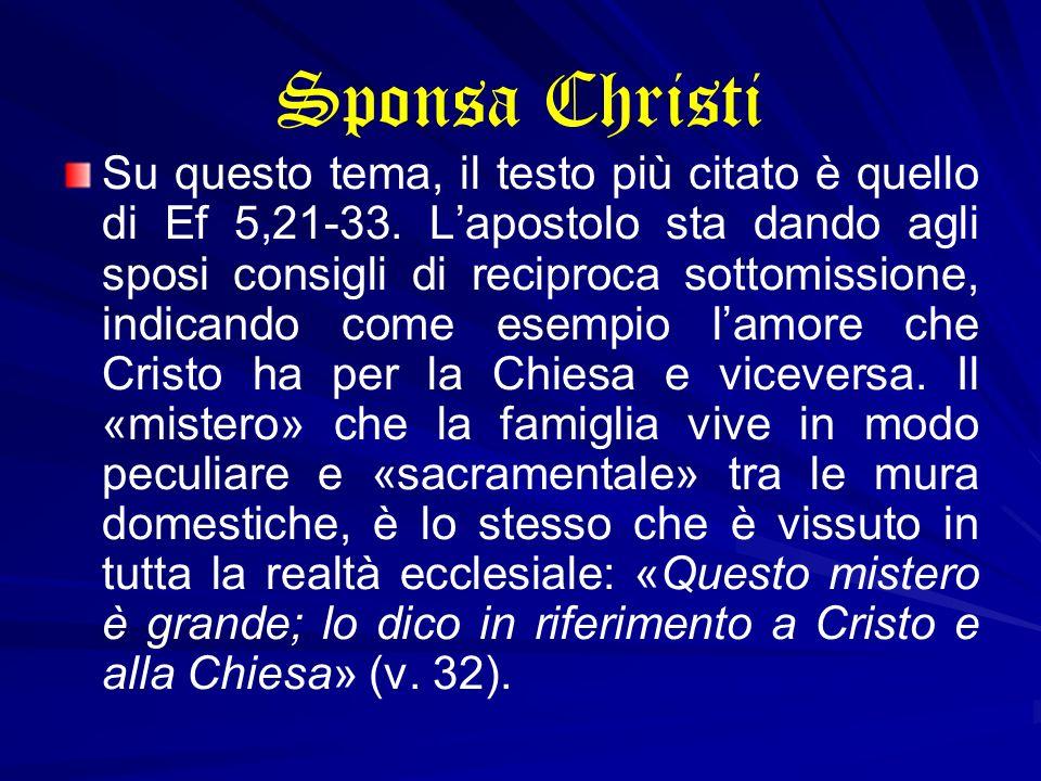 Sponsa Christi
