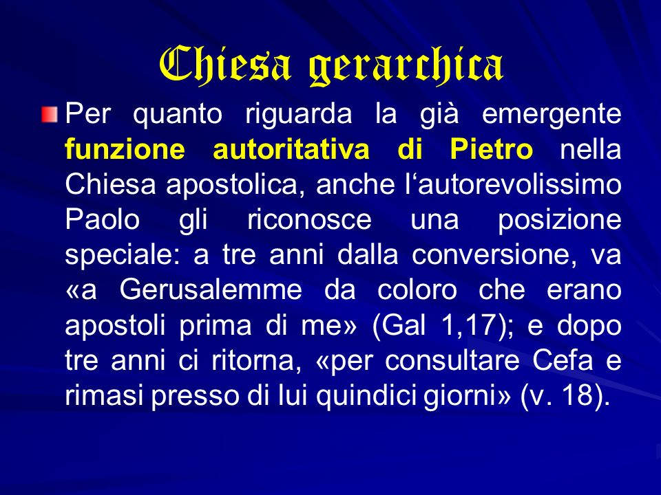 Chiesa gerarchica