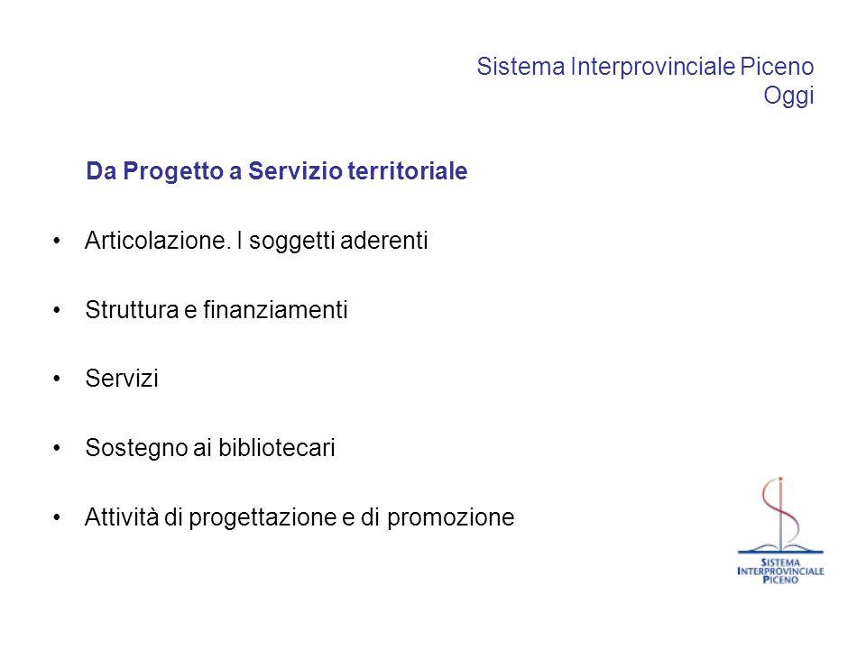 Sistema Interprovinciale Piceno Oggi