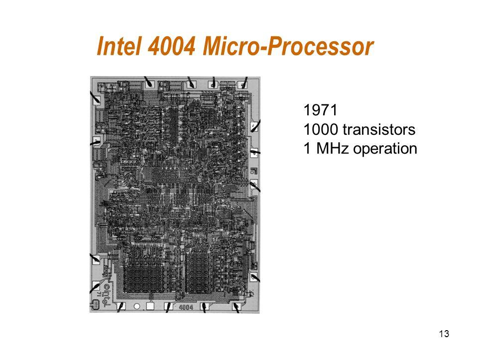 Intel 4004 Micro-Processor