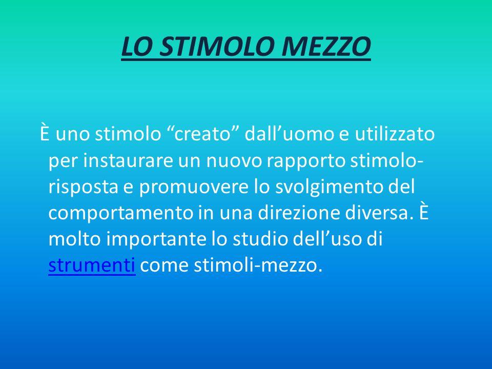 LO STIMOLO MEZZO
