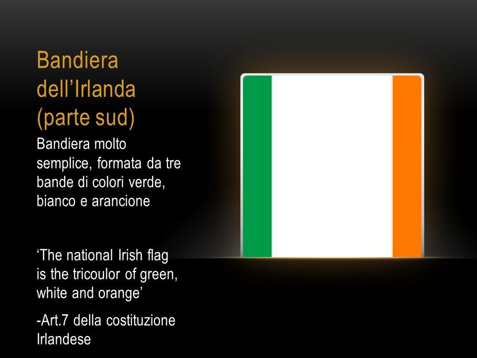 Bandiera dell'Irlanda (parte sud)