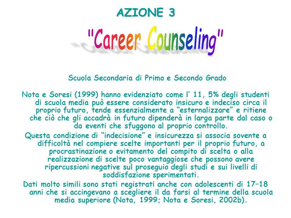 AZIONE 3 Scuola Secondaria di Primo e Secondo Grado