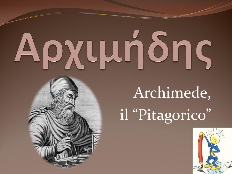 Archimede, il Pitagorico